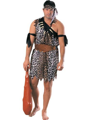 Caveman Fancy Dress Costume